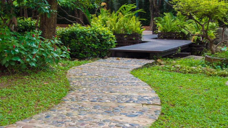 Des conseils en d coration maison et jardin cr er un chemin dans le jardin - Une maison un jardin berthenay versailles ...