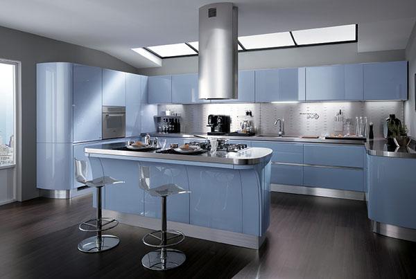 avec cette couleur vous allez transformer votre cuisine en un espace de douceur il faudra juste trouver un parfait quilibre avec ce bleu gris pour un